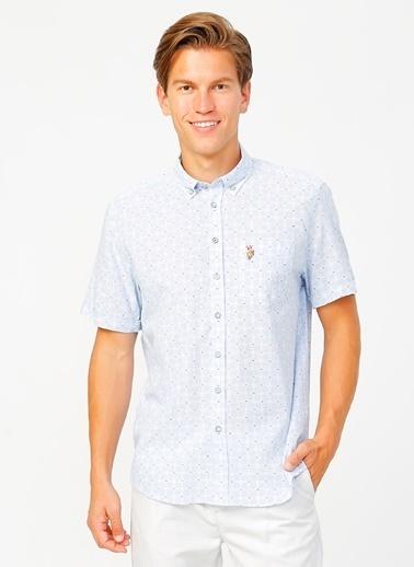 U.S. Polo Assn. U.S. Polo Assn. Erkek Gömlek Mavi